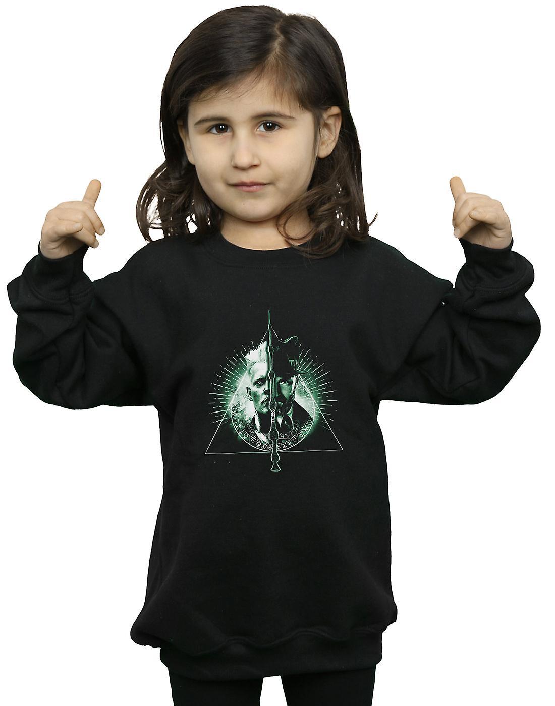 Fantastic Beasts Girls Dumbledore Vs Grindelwald Sweatshirt