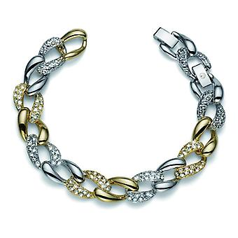 Oliver Weber Bracelet Rank Gold/Rhodium Crystal