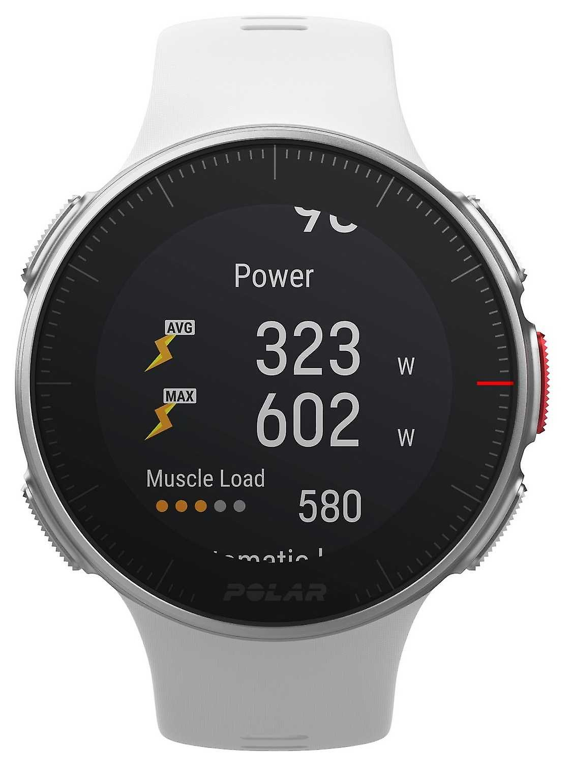 Polar Vantage V hvit GPS Multisport Premium trening HR 90070736 se