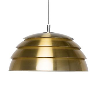 BELID Covetto één helft Globe vier laag hanger In Brass