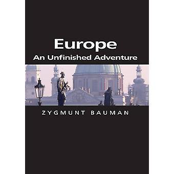 Europa - een onvoltooide avontuur door Zygmunt Bauman - 9780745634036 boek