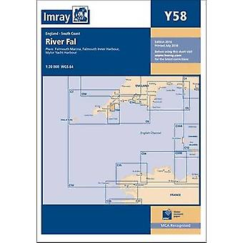 Imray Chart - River Fal - Falmouth to Truro by Imray - 9781846238512 B
