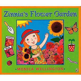 Jardín de la flor de Zinnia