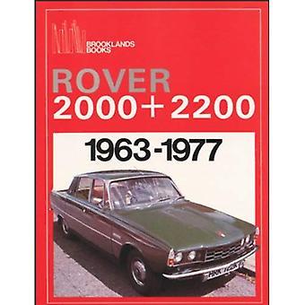 Rover 2000 e 2200 1963-1977 (Test di Brooklands Books Road) (Brooklands libri in serie di prove su strada)