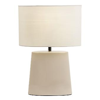 Iris Indoor Table Lamp - Endon IRIS-TLCR