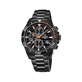 Festina Chronograph quartz men's Watch with stainless steel band F20365/1