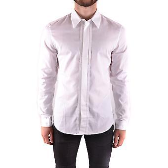 Givenchy Ezbc010008 Männer's weißes Baumwollhemd