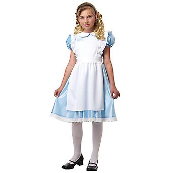 Alice au pays des merveilles histoire de conte de fées classique livre semaine Dress Up Girls Costume