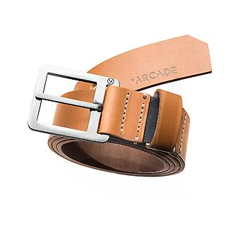 Arcade Padre Leather Belt in Tan