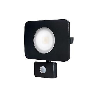 Integrale-LED floodlight 50W 4000K 4500lm PIR sensor gen II mat zwart IP64-ILFLC036P