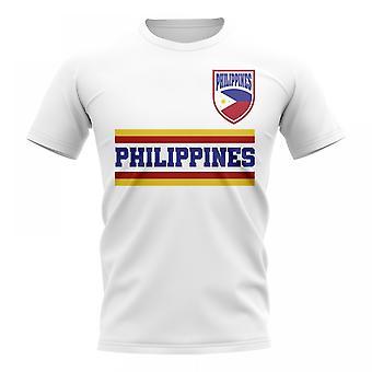 Filippiinit Core Football Country T-paita (valkoinen)