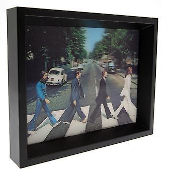 Beatles inramade Abbey Road 3D-bild