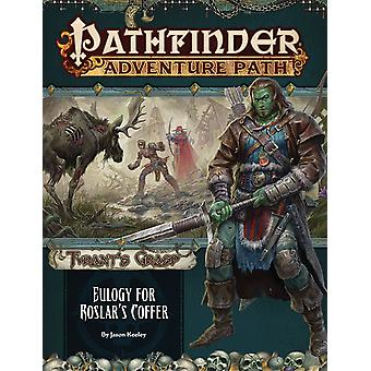 Pathfinder Adventure Path Eulogy for Roslar's Coffer Tyrant's Grasp 2 of 6 Book