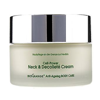 Mbr Medical Beauty Research Biochange Anti-ageing Body Care Cell-power Neck & Decollete Cream - 200ml/6.8oz