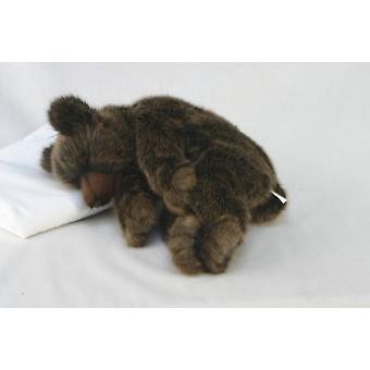 Hansa Peluche orso bruno dorme