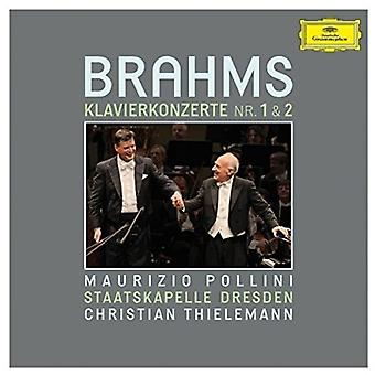 Pollini/Thielemann/S - Brahms: Piano Concer [DVD] USA import