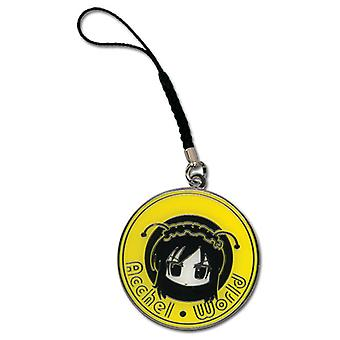 Cell Phone Charm - Accel World - New Kuroyukihime Face Metal ge17172