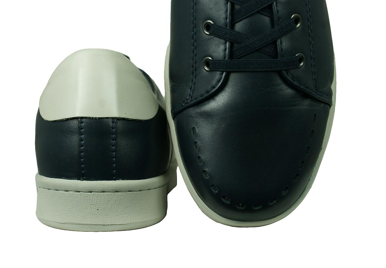 Sledgers George Mens Leather Trainers / Chaussures - Marine 7DCwb3