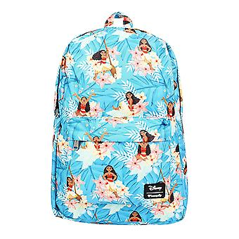 Backpack - Disney - Moana Leaves Aop Nylon wdbk0658