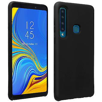 Samsung Galaxy A9 2018 silikone semi-stiv sag, soft touch mat finish-sort