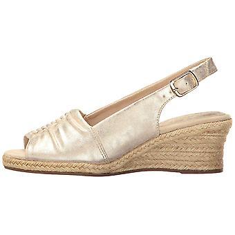 Easy Street Womens gentilmente Peep Toe ocasião especial alpergata sandálias