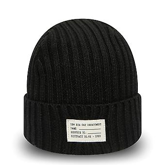 New Era Knit Winter Hat CUFF WATCH KNIT Beanie - Black