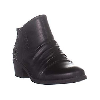 Bare Traps Womens Gericka Faux Fur Closed Toe Ankle Combat Boots