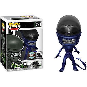Alien Xenomorph Blue Metallic 40th Ann. Specialty Series Pop