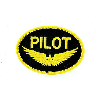 Patch Ecusson Brode Thermocollant Marine Naval Aviation Pilot Boat Aircraft