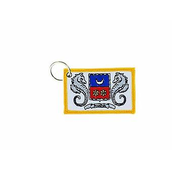 Cle Cles Key Brode Patch Ecusson Badge Flag Mayotte