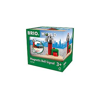 Brio 33754 Brio Magnetic Bell Signal - Train Railway