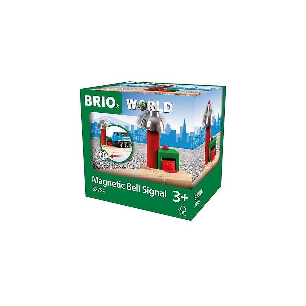 Brio 33754 Brio Magnetic Bell Signal - Train Railway