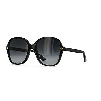 Gucci GG0092S 001 Black/Grey Gradient Sunglasses
