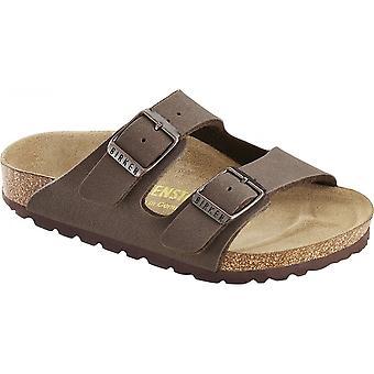 Birkenstock Kids Arizona sandaal Mocca 552893, kinderen klassieke twee Strap Birkie
