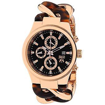Jivago Women's Lev Black Dial Watch - JV1230
