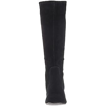 Steve Madden Womens Hanna Leather Closed Toe Knee High Fashion Boots