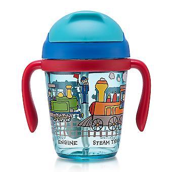 Tyrrell Katz treina a criança que bebe o frasco
