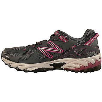 New Balance Women's Trail Running Shoes 573v2 (9, Grey/Fuchsia Pink)