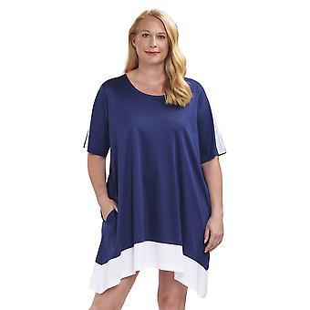 Rösch 1194653-16516 Women's Curve Dark Blue Nightdress