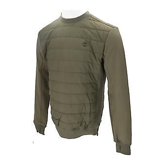Timberland PADDED PULLOVER POLY Men's Jacket Green NEW Coat Winter Outdoor