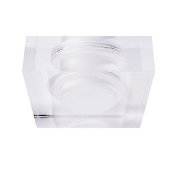 Acrylic ring square for COB 68 acrylic 90x90mm plastic