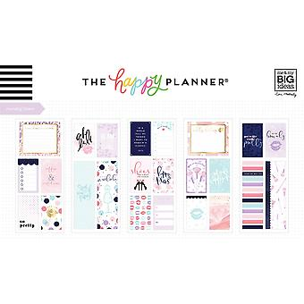 Gelukkig planner medium Flip stickers 5/vellen-glam girl