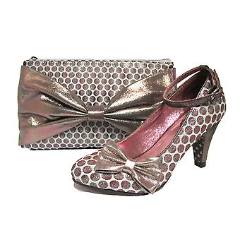 Joe Browns Couture Rochelle Polka Dot Court Shoes & Matching Bag