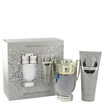Invictus By Paco Rabanne Gift Set -- 3.4 Oz Eau De Toilette Spray + 3.4 Oz Shower Gel (men) V728-511033