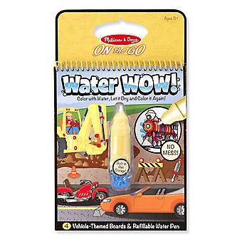 Melissa & Doug Water Wow! Vehicle Themed Reuseable Painting Book