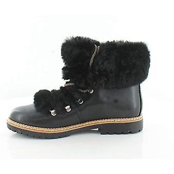 INC International Concepts Womens Pravale Cuir Amande Toe Ankle Fashion Bo...