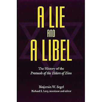Mensonge et un libelle de l'histoire des protocoles des sages de Sion