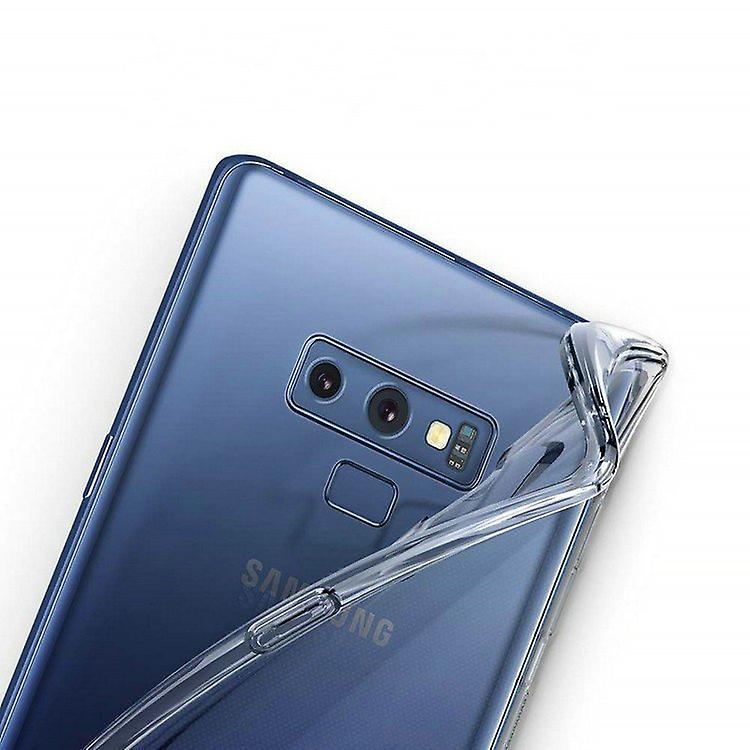 iCoverCase | Samsung Galaxy Note 9 |  Transparent TPU Skal