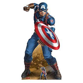 Captain America Avengers Marvel Legend Vibranium Shield