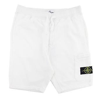 Stone Island 64651 Bermuda Shorts White V0001